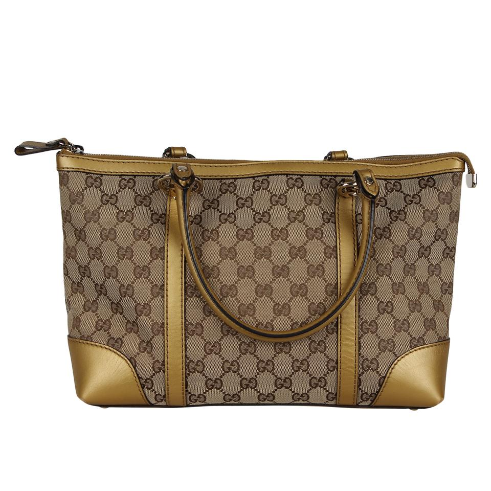 b787f1ad Gucci Webby Shoulder Bag Gg Heart Logo 6913 Brown Canvas Tote 65% off retail