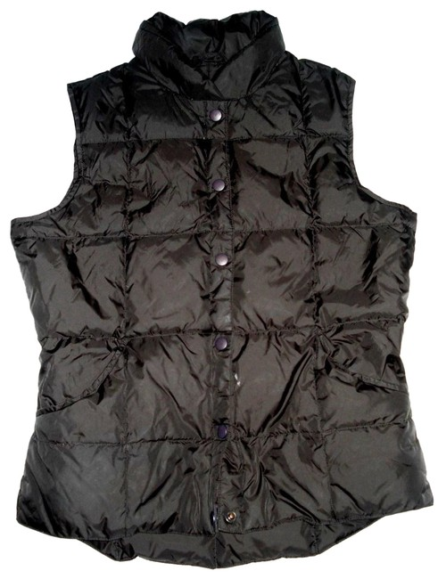 Item - Brown XS Goose Down 2-4 Two Pockets Vest Size 2 (XS)