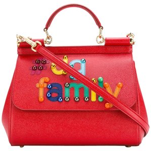 201f555c4e Red Dolce Gabbana Bags - Up to 90% off at Tradesy