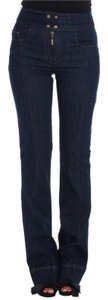 Roberto Cavalli D18165-1 Women's Cotton Stretch Slim Relaxed Fit Jeans