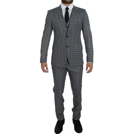 Preload https://img-static.tradesy.com/item/24557445/dolce-and-gabbana-blue-gray-d10172-2-wool-owl-print-slim-fit-3-piece-suit-it-52-xl-tuxedo-0-0-540-540.jpg