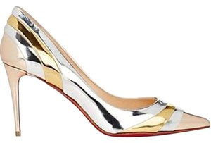 Christian Louboutin Heels Mirror Metallic Pumps