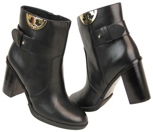 Tory Burch Ankle Pumps Heels Black Boots