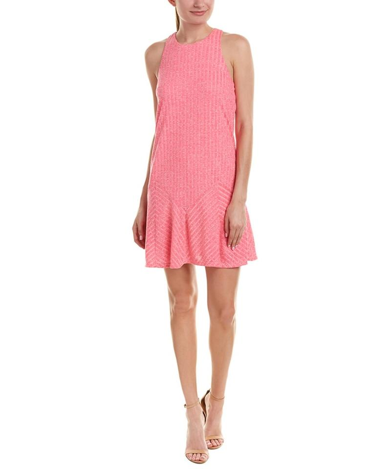 fbe78749a Anthropologie short dress PINK Racer-back Flare Sleeveless Short Mini on  Tradesy Image 0 ...