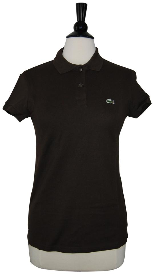 e1e881256 Lacoste Brown Classic Fit Tee Shirt Size 10 (M) - Tradesy
