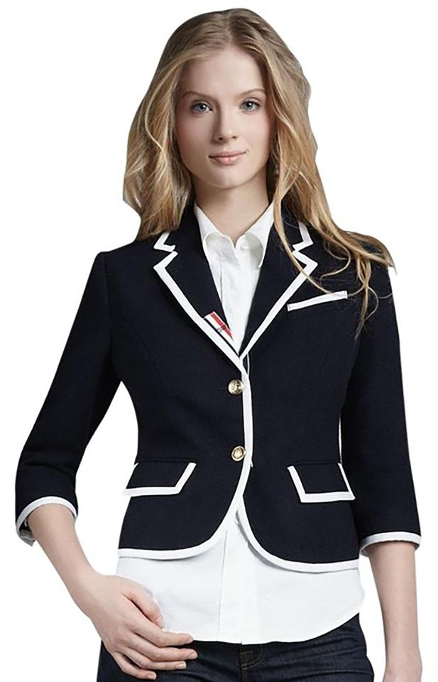 447b1ed4eb Thom Browne Blue For Target Nautical Blazer Jacket Size 16 (XL, Plus ...
