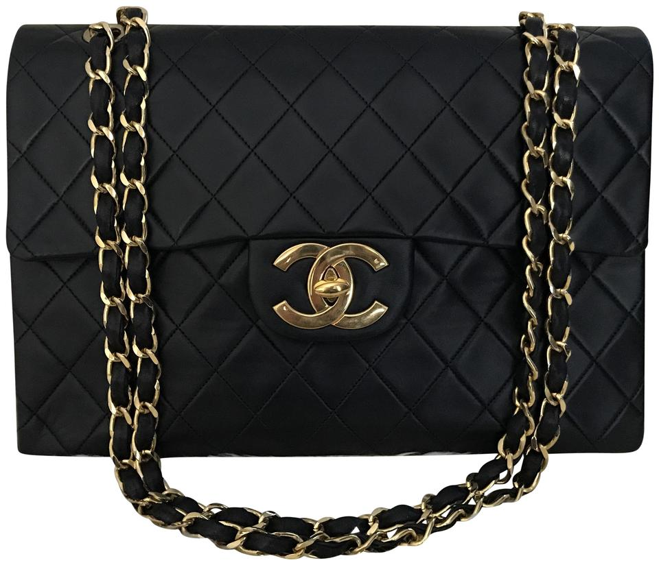 234480c29518 Chanel Classic Vintage Quilted Jumbo Xl Maxi 13