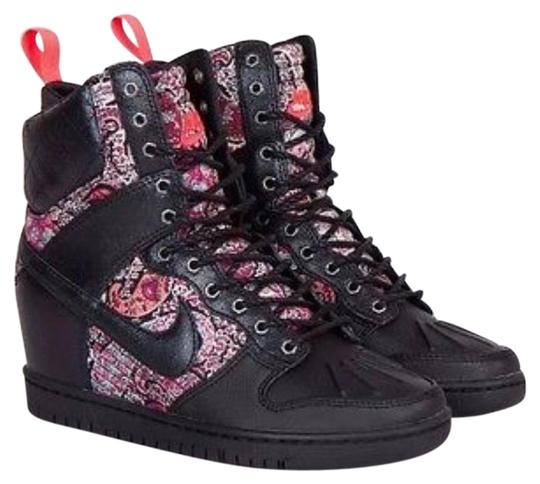 Preload https://img-static.tradesy.com/item/24558909/nike-black-w-floral-print-limited-edition-liberty-of-london-sky-high-dunk-sneakers-size-us-9-regular-0-1-540-540.jpg
