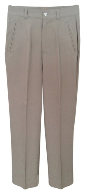 Tommy Bahama Silk Straight Pants Stone Image 0