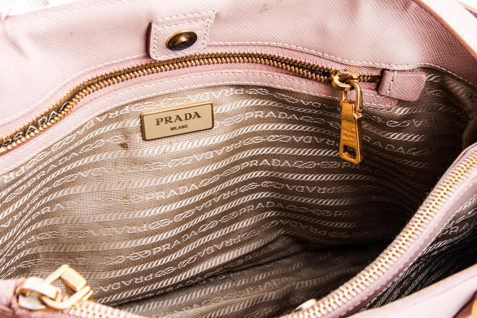 Prada Galleria Medium Beige Saffiano Leather Tote - Tradesy 5e5e5e35b4414
