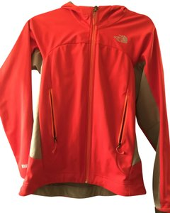 The North Face Athletic Red & Gray Jacket