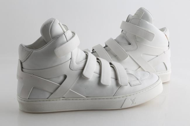 Item - White Strap Boxing High-top Sneakers Shoes