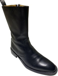 Gucci Italian Made Quality Leather BLACK Boots