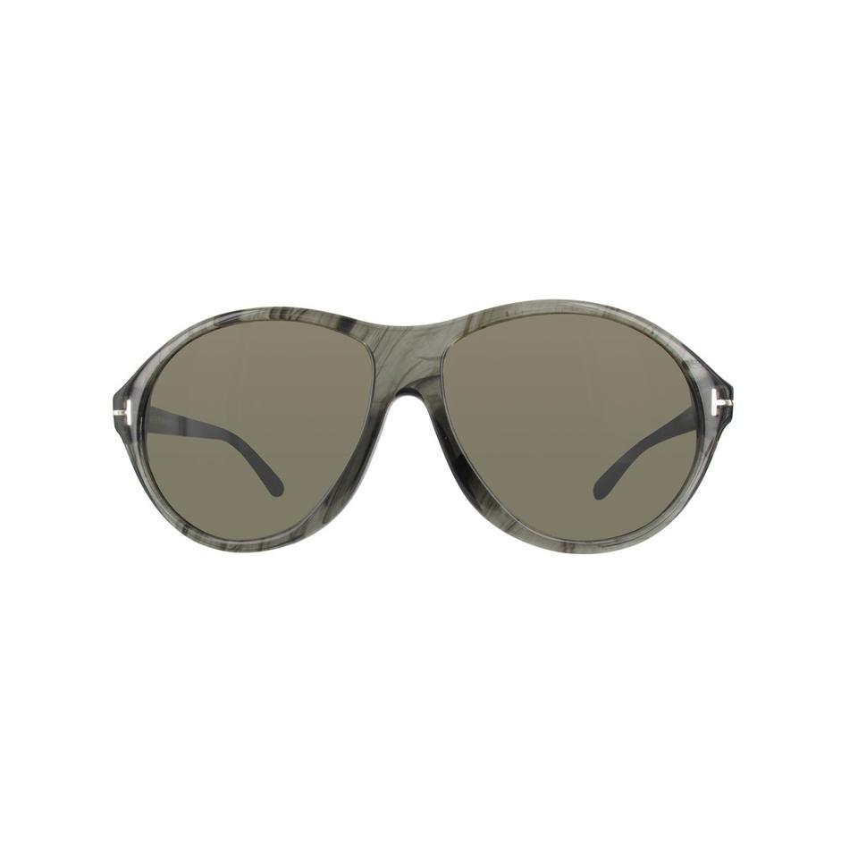 a00b3589d3 Tom Ford 20b Transparent Gray Marble New Tyler Tf 398 Tf398 Sunglasses