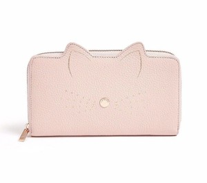 2cc96127f3cfb4 Ted Baker Pink London Cat Serini Leather Matinee Wallet - Tradesy