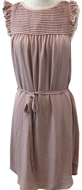 Item - Pink Pastel Mid-length Short Casual Dress Size 6 (S)