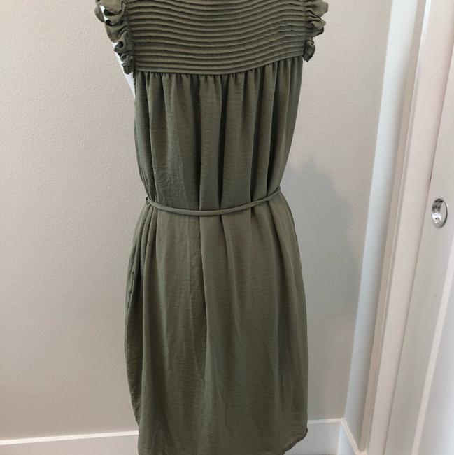 cc1eeed41d5e H&M Olive Green Mid-length Short Casual Dress Size 6 (S) - Tradesy