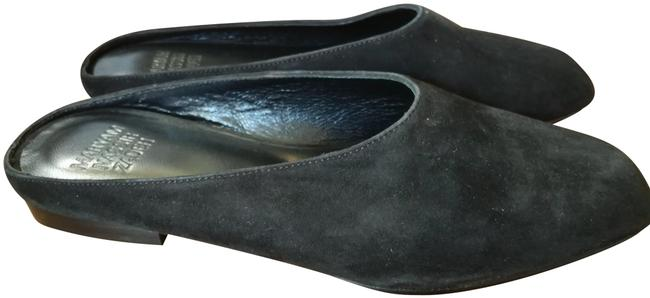Item - Black Suede Slippers Flats Size EU 35.5 (Approx. US 5.5) Regular (M, B)
