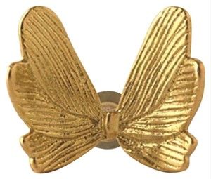 Anthropologie Gold Golden Butterfly Knobs Other