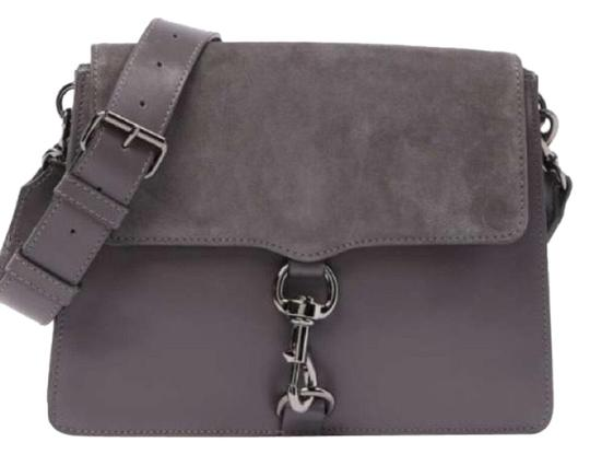 Preload https://img-static.tradesy.com/item/24561375/rebecca-minkoff-234567-gray-suede-and-leather-shoulder-bag-0-2-540-540.jpg
