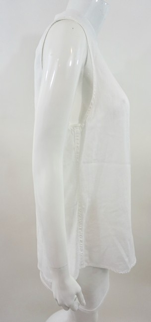 DL 1961 Lace Up Top White Image 3