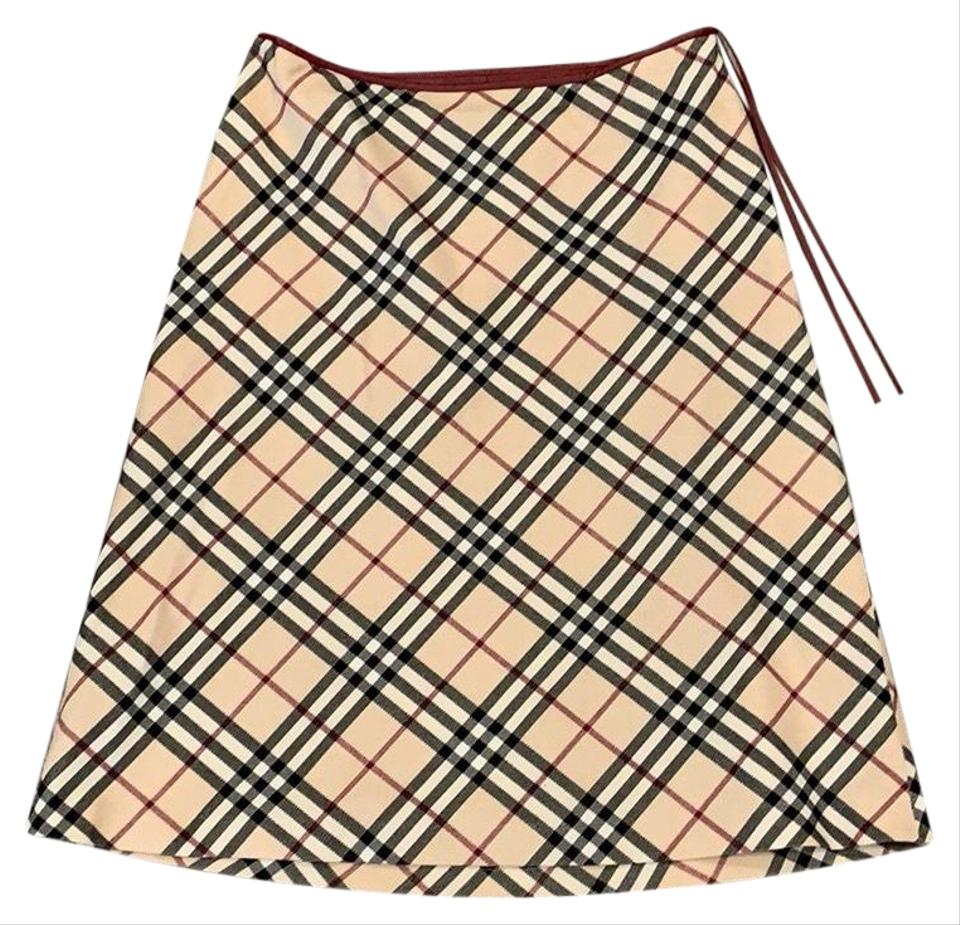 a77af876ad Burberry Checkered Skirt Size 4 (S, 27) - Tradesy