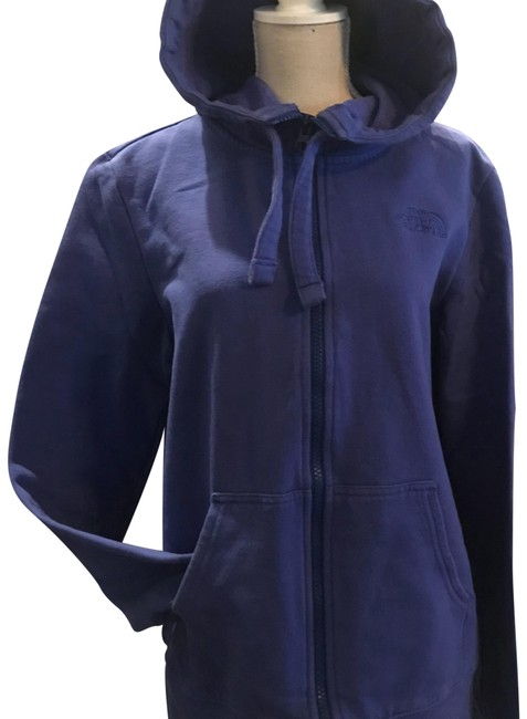 The North Face Blueish Purple Hoodie Jacket Size 4 (S) The North Face Blueish Purple Hoodie Jacket Size 4 (S) Image 1