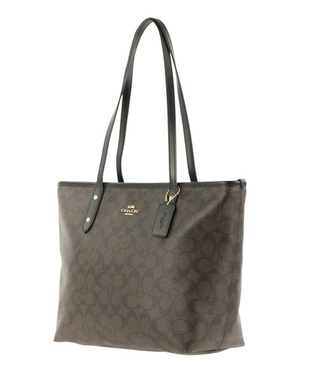 Coach New With Tags Tote in Brown Image 3