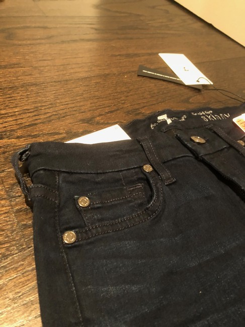 7 For All Mankind Skinny Jeans-Dark Rinse Image 2