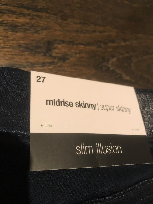 7 For All Mankind Skinny Jeans-Dark Rinse Image 7