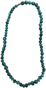 Other Malachite green bead necklace