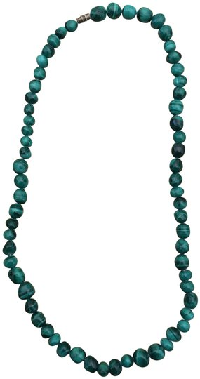Other Malachite green bead necklace Image 0