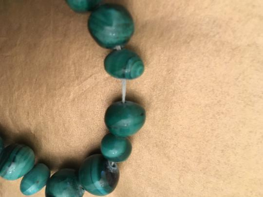 Other Malachite green bead necklace Image 2