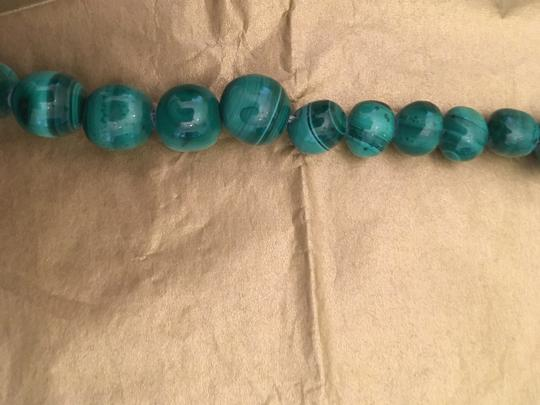 Other Malachite green bead necklace Image 3