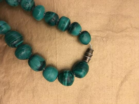 Other Malachite green bead necklace Image 5