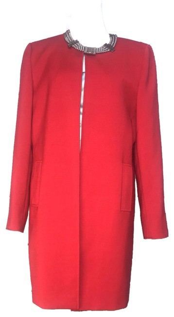Preload https://img-static.tradesy.com/item/24562066/tahari-red-wool-long-dress-coat-size-12-l-0-1-650-650.jpg