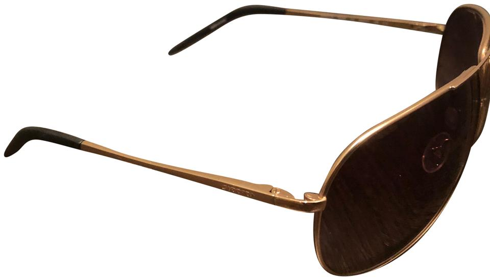 2d26ab5d71 Carrera Brown Gold Brown Gold Aviator Sunglasses - Tradesy