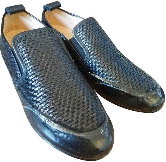 Preload https://img-static.tradesy.com/item/24562085/black-rubber-sole-woven-flats-size-eu-37-approx-us-7-wide-c-d-0-1-540-540.jpg