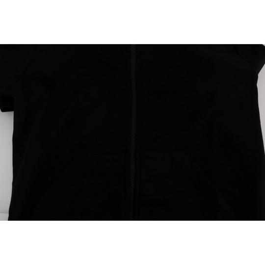 Black D1352#2-4 Sport Casual Hodded Cotton Sweater (Xxl) Groomsman Gift Image 4
