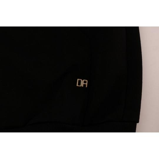Black D1352#2-4 Sport Casual Hodded Cotton Sweater (Xxl) Groomsman Gift Image 5