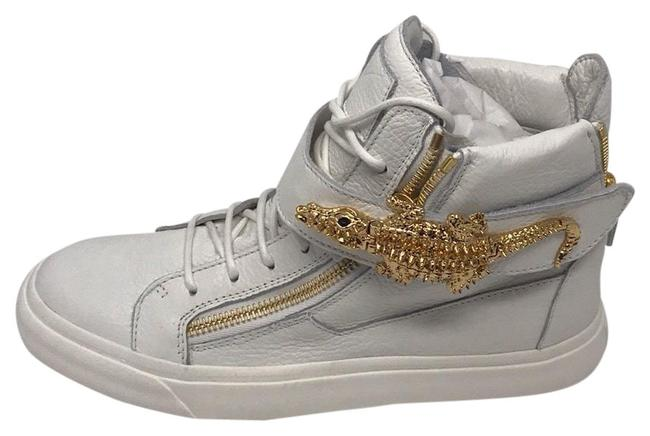 Item - White Gold New Sneakers Size EU 41 (Approx. US 11) Regular (M, B)