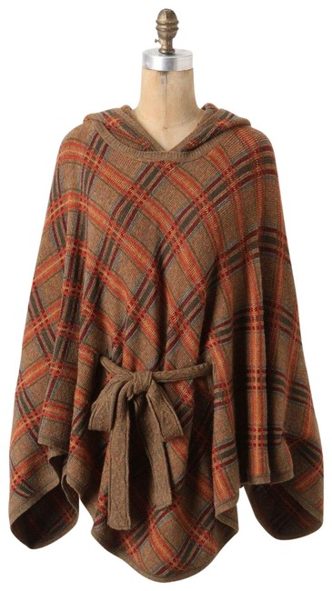 Item - Multicolor Hallstatt Plaid By Charlie Robin Poncho/Cape Size OS (one size)