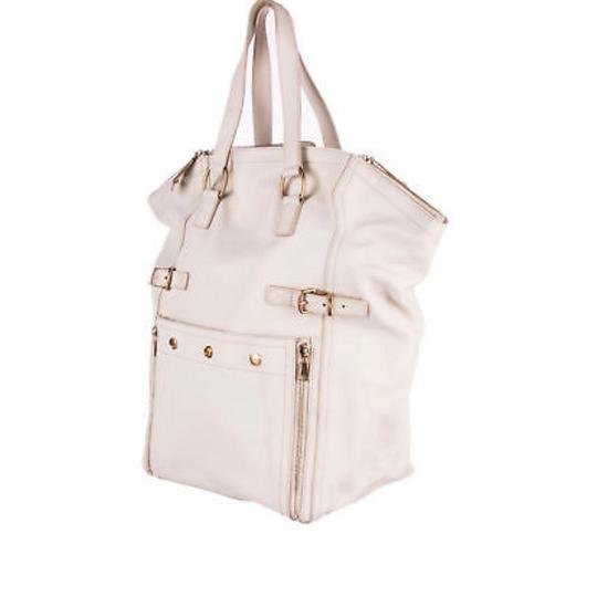 Saint Laurent Tote in Ivory Image 1