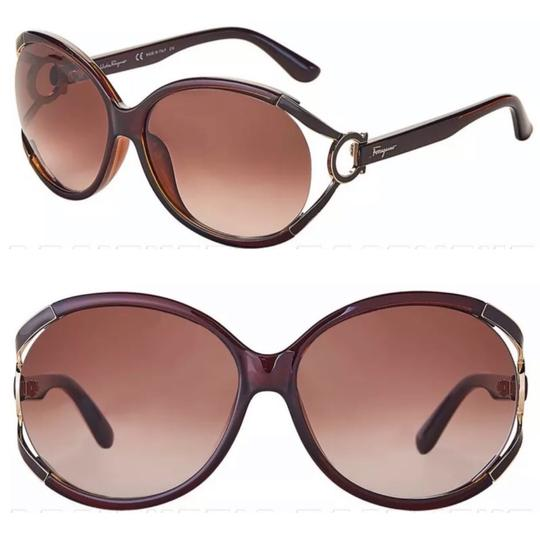 Preload https://img-static.tradesy.com/item/24562309/salvatore-ferragamo-brown-madonna-sf600s-sunglasses-0-0-540-540.jpg