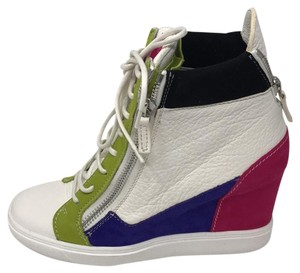 Giuseppe Zanotti multi pink green white purple black Athletic