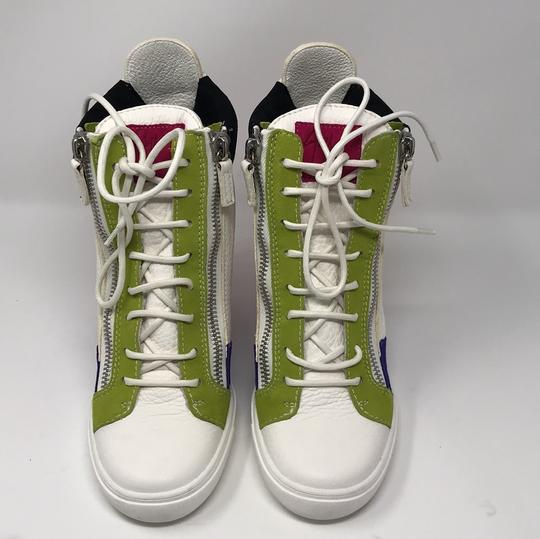 Giuseppe Zanotti multi pink green white purple black Athletic Image 1