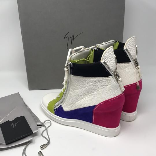 Giuseppe Zanotti multi pink green white purple black Athletic Image 10