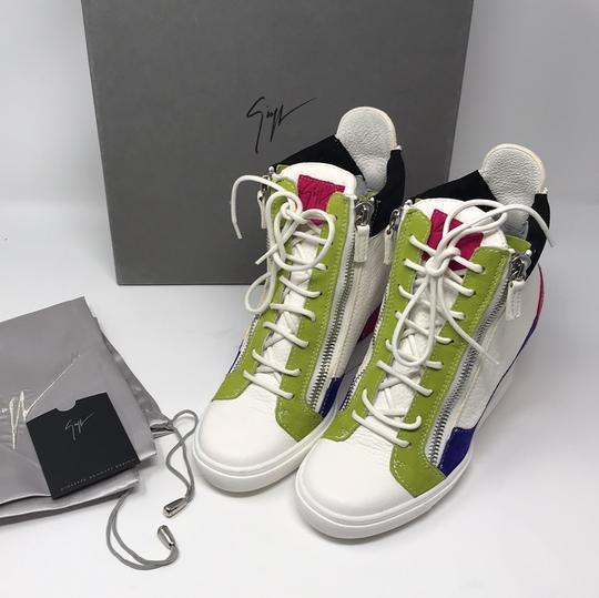 Giuseppe Zanotti multi pink green white purple black Athletic Image 11