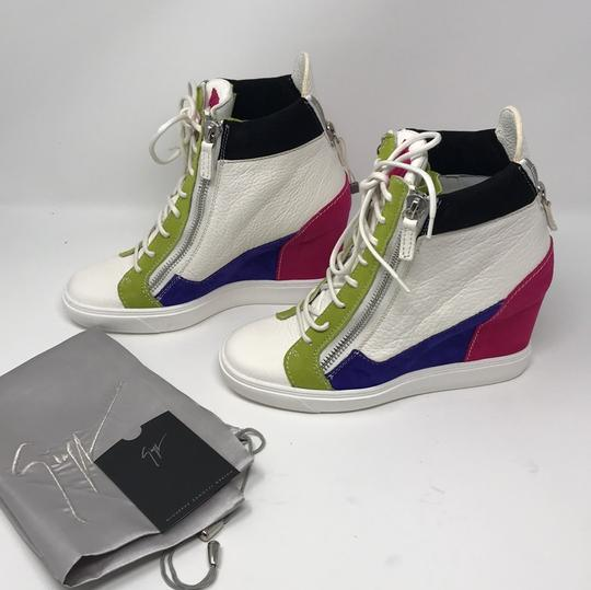 Giuseppe Zanotti multi pink green white purple black Athletic Image 3