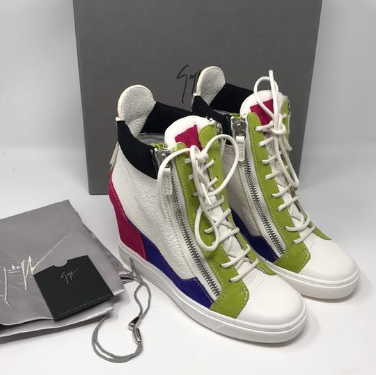 Giuseppe Zanotti multi pink green white purple black Athletic Image 7